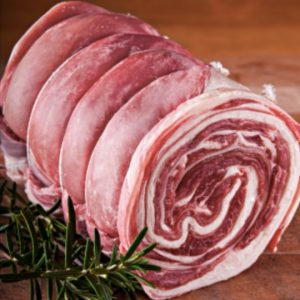 Welsh Breast of Lamb Boned and Rolled – Per kg